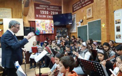 Vizita orchestrei tinerilor din Cojocna, 7 decembrie 2018